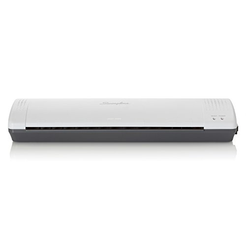 Swingline Laminator, Thermal, Inspire Plus Lamination Machine, 12'' Max Width, Quick Warm-up, Includes Laminating Pouches, White / Gray (1701867) by Swingline (Image #1)