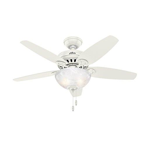 "Hunter 52134 Hunter Cedar Park Ceiling Fan with Light, 44"","