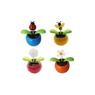 Diamond Visions 08-1303 Mini Solar Sunny Jiggler in Assorted Designs(1 Jiggler): Toys & Games