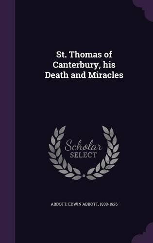 book cover of St. Thomas of Canterbury