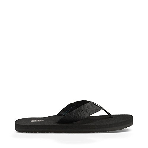 Teva Men's Mush II Flip Flop,Brick Black,12 M US