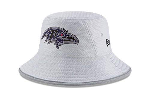 (New Era NFL 2018 Training Camp Sideline Bucket Hat - Gray (Baltimore)