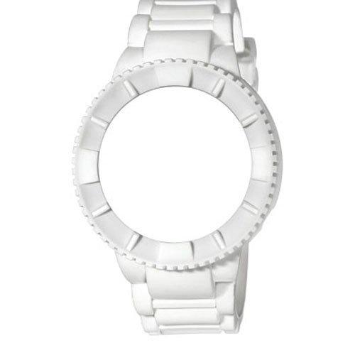 WATX cowa1750 – Reloj de Pulsera, Correa de Silicona Color Blanco