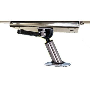 Magma LeveLock All-Angle Adjustable Fish Rod Holder Mount (Gourmet Series Grills Only), Outdoor Stuffs