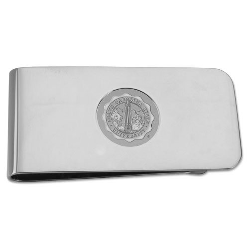 CSI Cannon Sports North Carolina State Wolfpack Silver Money Clip ()