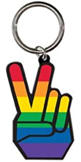 Amazon.com: Dan Morris – Símbolo de la paz – Llavero de ...