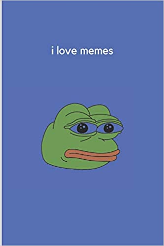 Amazon Com I Love Memes Gift For Memes Lovers And Perfect College Notebook 64 Ruled Pages 9781090312907 Notebooks Meme Books