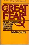 The Great Fear, David Caute, 0671248480