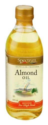 - Spectrum Naturals Refined Almond Oil, 16 Ounce
