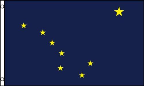 Best Flags Alaska 3x5ft Poly Flag, - Flag Alaska