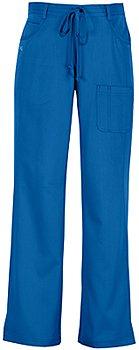NRG by Barco 3207P Petite Women's 4 Pocket Scrub Pant (New Royal - L)