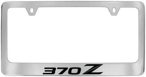 Nissan 370z Chrome Plated Metal License Plate Frame Holder