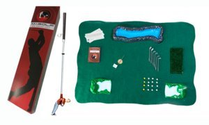 Mini Indoor Golf Player Pack by Classic Golf Gifts