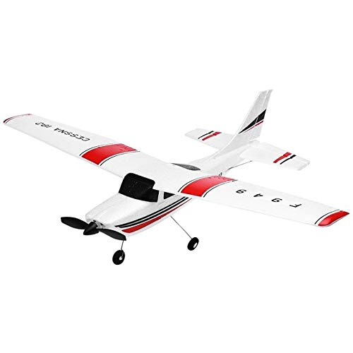 BeesClover 3CH RC Airplane 2.4G RC Aircraft Fixed-Wing RTF Airplane Radio Control Fixed Wing Aereo VS WLtoys F929 Come da Immagine