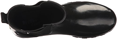 Western Chief Women's Ankle Bootie Rain Boot, Black, 11 M US by Western Chief (Image #8)