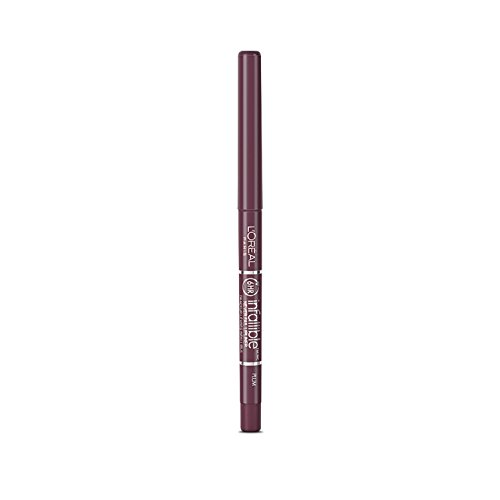 L'Oreal Infallible Never Fail Lip Liner Pencil, Plum 1 ea