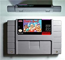 Super Punch Out - ARPG Game Battery Save US Version - Game Card For Sega Mega Drive For Genesis
