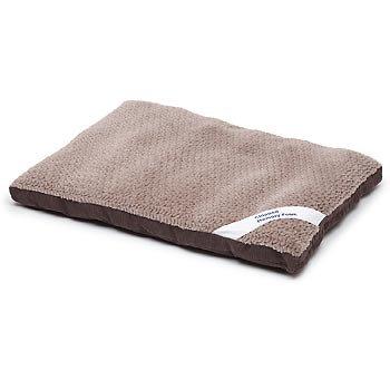 Petco Gray Memory Foam Rectangular Pillow Dog Bed, My Pet Supplies
