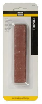 Master Mechanic 160528  1 -Inch x 5 -Inch Tripoli Tube Buffing Brown Compound