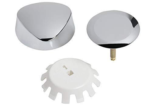 Geberit 151.550.21.1 TurnControl Overflow Drain Trim Kit with Plastic Handle