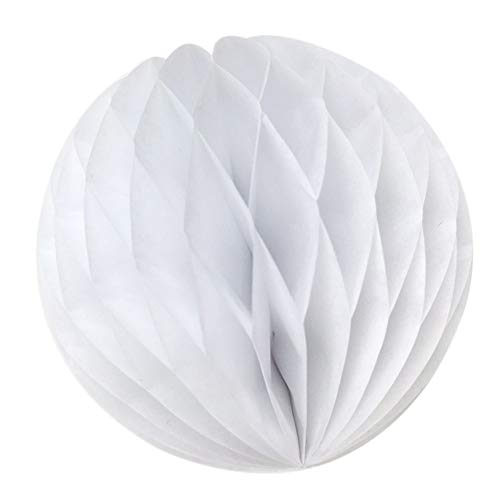 Party Party Party - Aima 15pcs 5cm Honeycomb Balls Decoration Party White - White Orchard Party Toys Decoration Party Decorations Amplifier Sound Accewit Motorcycle Scooter Electr Motorcycl B