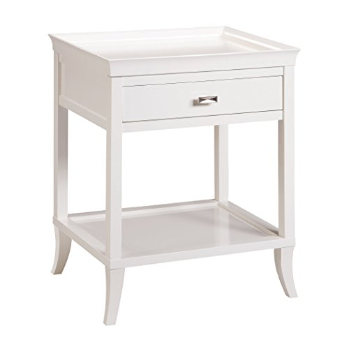 Bailey Street Elk Lighting Tamara Side Table - White