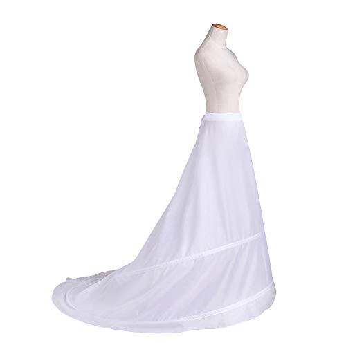 シャンプーピル便利さニューヤ (Newya) レディース ドレス用下着 パニエ ウエディングドレス 大人用 ワイヤー入りパニエ 簡易式ロングドレスパニエ