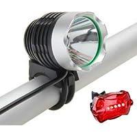 Farol Bike Led T6 Lanterna Recarregável 2770000 Lumens
