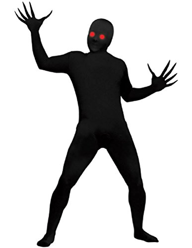 Costumes Skin (Fade Eye Shadow Demon Skin Suit Kids Costume (Medium 8-10))