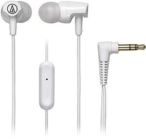 Fone de Ouvido Sonicfuel Intra-Auriculares com Microfone e Controle, Audio-Technica, ATH-CLR100iSWH, Branco