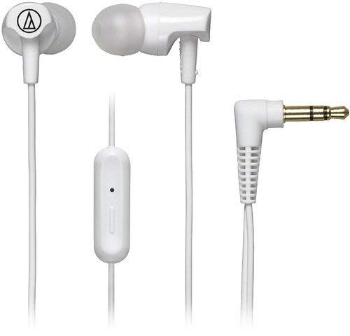 Audio-Technica ATH-CLR100iSWH SonicFuel In-Ear Headphones...