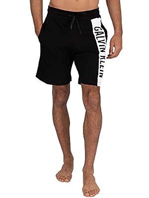 Calvin Klein Men's Medium Jersey Shorts, Black, L