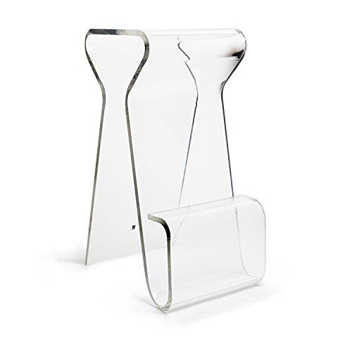 Umbra Magino Stool, Acrylic Stool, Clear (Modern Bar Acrylic Stool)
