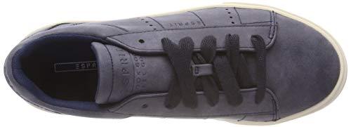 Blu ESPRIT Lu Donna Ginnastica da 400 Cherry Scarpe Basse Navy P4PZ0qf