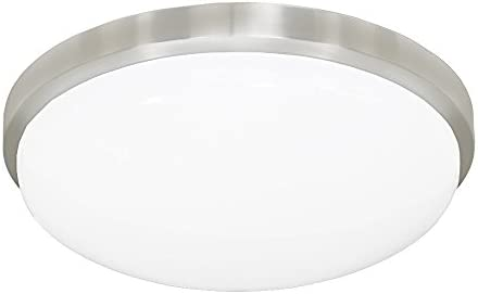 Jesco Lighting CM402M-30-BA 3000K Round LED Ceiling Fixture/ADA Sconce