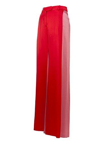 Rouge En Valentino Woman Pb3rb1w03h30x8 Viscose Pantalon qOOXaZw