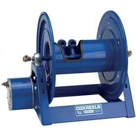 "Coxreels 1275HPL-4-12-A Dual Hydraulic Air Motorized Hose Reel 1/4"" x 200' No Hose"