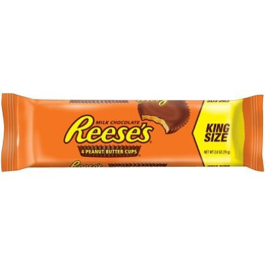 Reese's Peanut Butter Cups, King Size (24 ct.) (pack of 6)