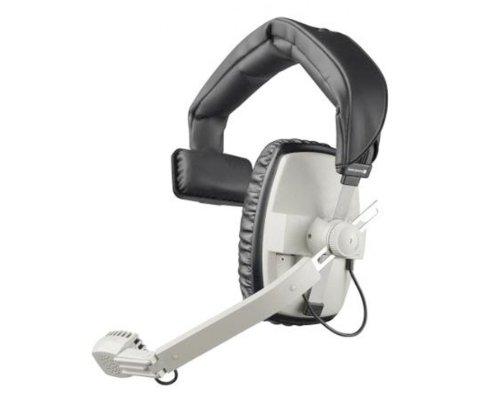 DT 108 Hör-Sprechgarnitur gris Einohr, 200/400Ohmios, sin cable