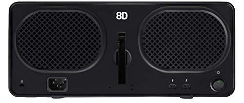 Drobo 8D 8-Drive Direct Attached Storage (DAS) Array - Dual Thunderbolt 3 Ports (DRDR7A21) by Drobo (Image #3)