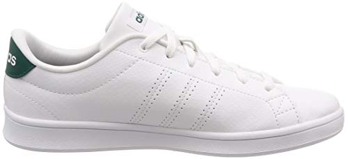 White Noble Green Clean White Footwear 0 Damen Weiß Advantage Sneaker adidas QT Footwear 6Rqzwx4
