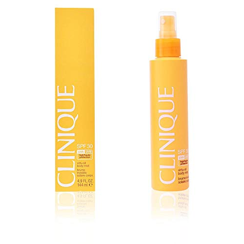 Clinique Broad Spectrum SPF 30 Sunscreen Virtu-Oil Body Mist 4.9 Ounce