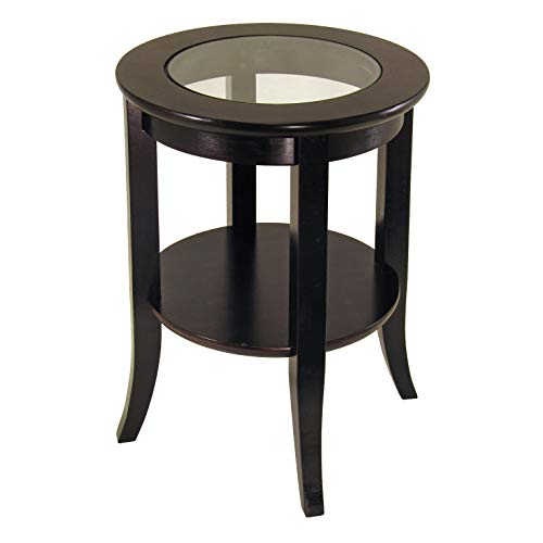 (Winsome Wood 92218 Genoa Occasional Table, Espresso)