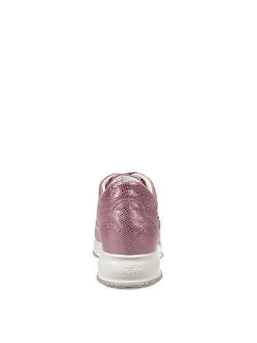 Leather HXW00N0E4317HVM405 Sneakers Women's Pink Hogan Ut56wxnqw
