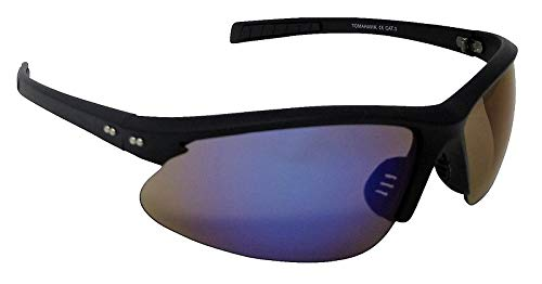 Tomahawk - Gafas de sol deportivas con espejo azul (lentes ...