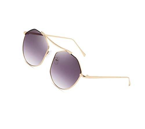 Huyizhi viajar Gafas Moda Mujeres Protección Al Hombres de sol UV400 de de sol Golden para libre Metal Guay aire Marco Gafas Pesca Conducción rqT1wrx