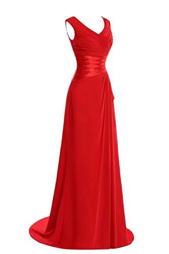 Bess Appliques A Neck Blue Royal Bridal V Dress Formal Women Prom Line Evening s Long 4RqwB1xq