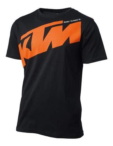 KTM ラジカル ロゴ Tシャツ 3PW196630 M ブラック 3PW1966303 B07GSDYTSZ  M