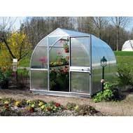 Cheap RIGA V Polycarbonate Commercial Greenhouse