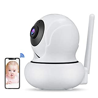 Funxwe 1080P WiFi PTZ IP Camera FHD Face Detection Auto Tracking 4X Zoom Wireless Two-Way Audio Baby Monitor CCTV Security Webcam